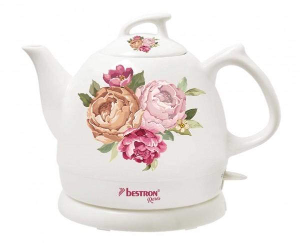 Wasserkocher im Rose-Design von Bestron