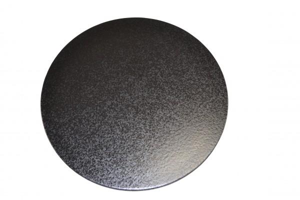 Megrill Pizzastein, Brotbackstein, Grillstein aus glasiertem Cordierit 350x20mm