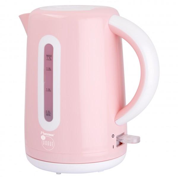 Wasserkocher 1,7Liter rosa