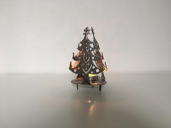Christbaum aus Cortenstahl