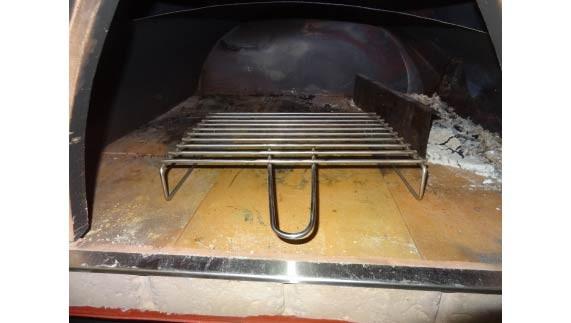 Edelstahl-Grillrost für Holzbacköfen