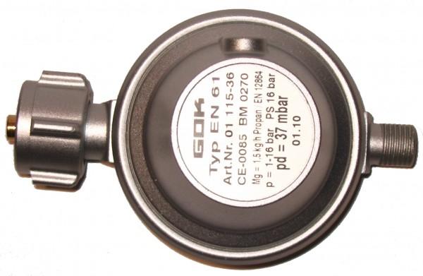 Gas-Druckminderer 37mbar