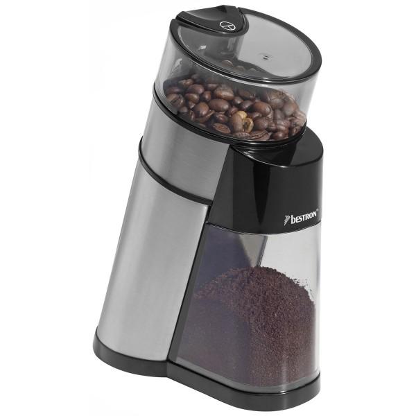 Kaffeemühle AKM1405 von bestron gefüllt