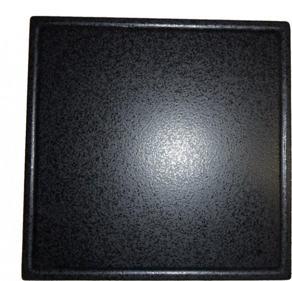 Megrill Grillstein 485x485mm mit Saftrille