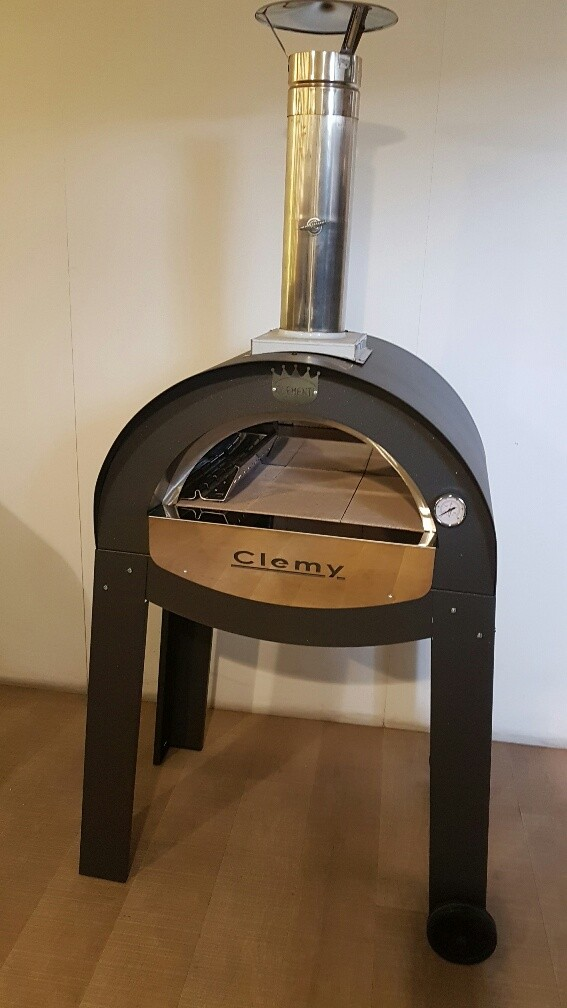Clementi mobiler Holzbackofen Clemy Clemy70x50
