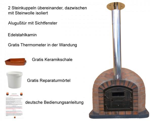 Steinbackofen Rustic100