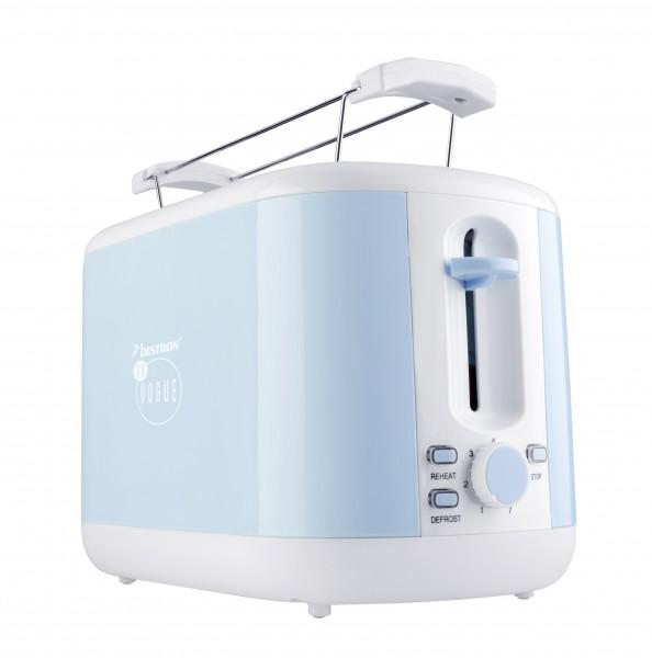 Toaster für 2Scheiben Brot - blau