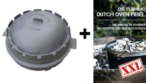 dutch oven + Gratis Buch dutch oven fibel