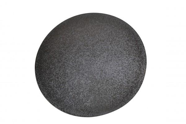 Megrill Pizzastein, Grillstein aus glasiertem Cordierit 470mm
