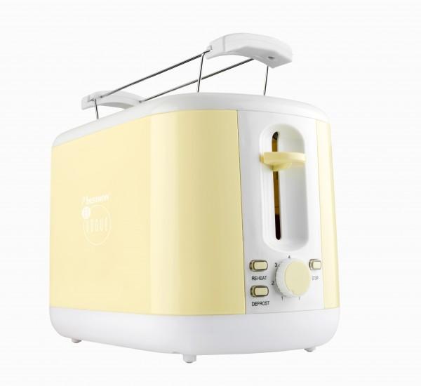 Toaster für 2Scheiben Brot - vanille