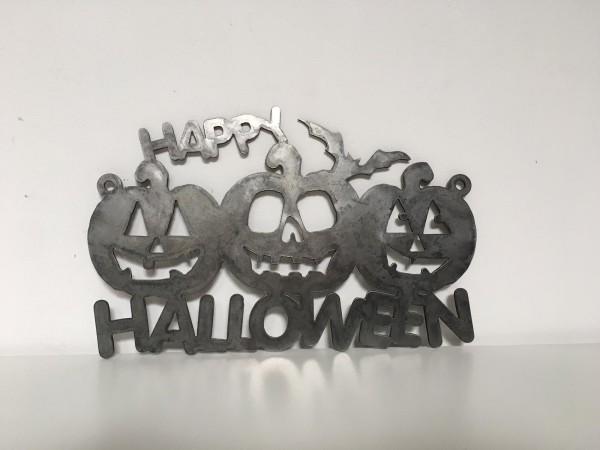Happy Halloween aus Cortenstahl