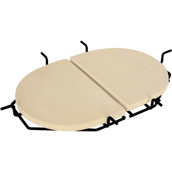 Primo Hitzeschutzplatten mit Auffangschalen-Roste für Oval XL