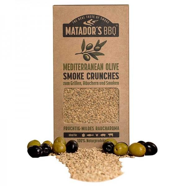 MATADOR'S BBQ Smoke Crunches Mediterranean Olive - Räucherchips