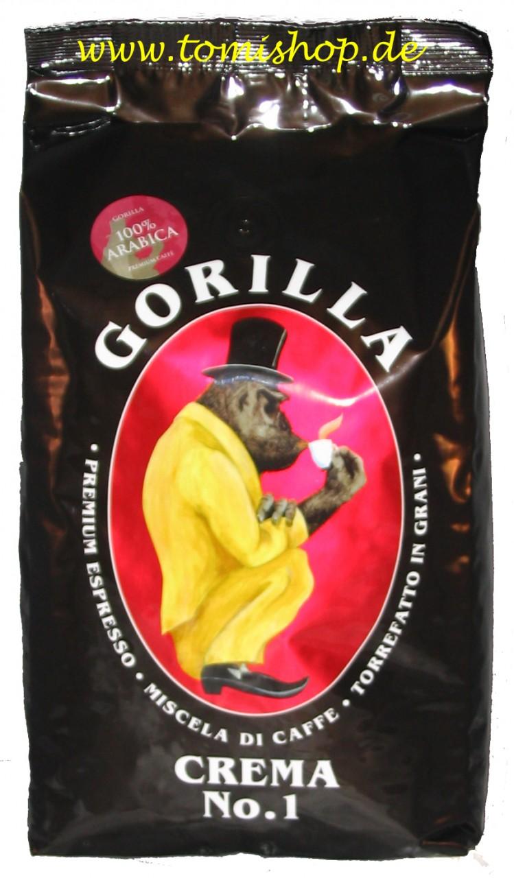 Joerges Espresso Gorilla Crema No.1 1000g FF01GON1
