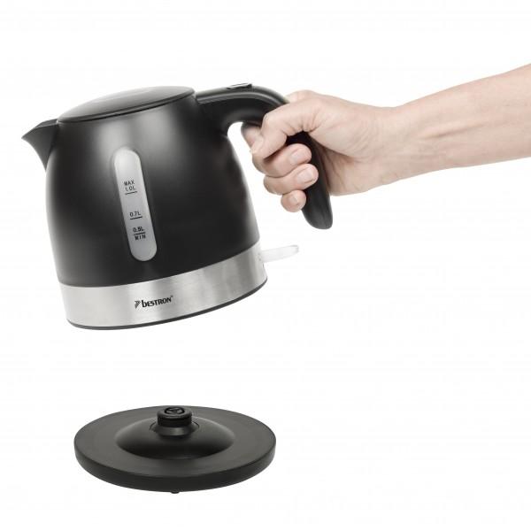 Wasserkocher 1Liter schwarz