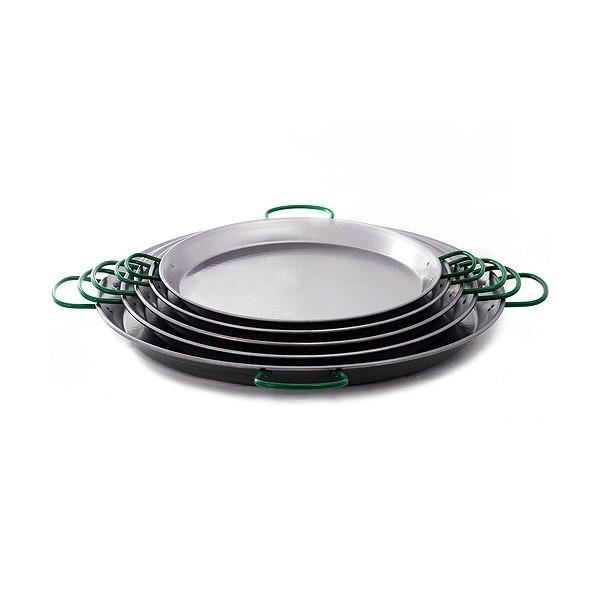 Paella-Pfanne 60cm aus poliertem Stahl