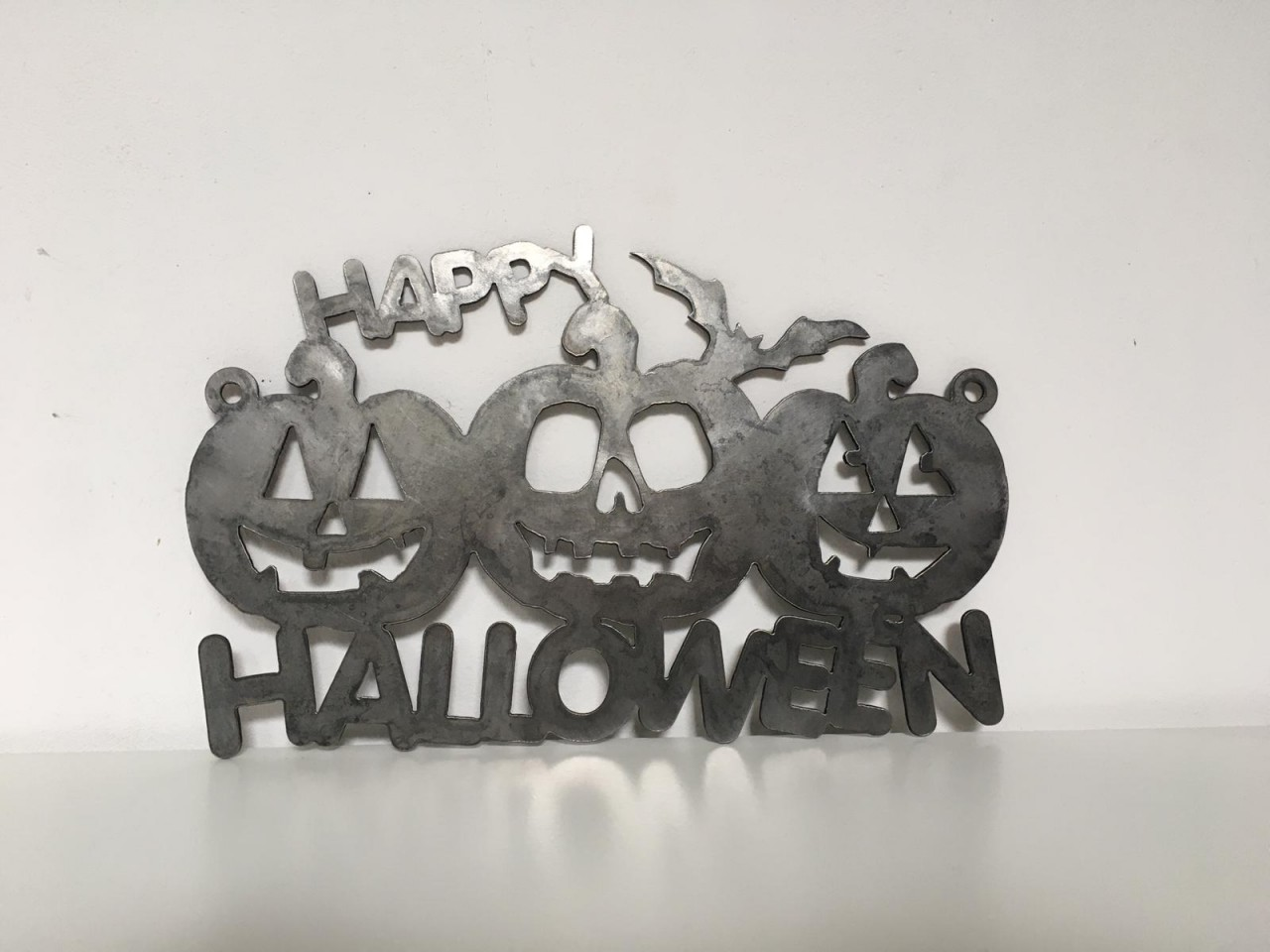 megrill Halloween-Motiv aus Cortenstahl corten6
