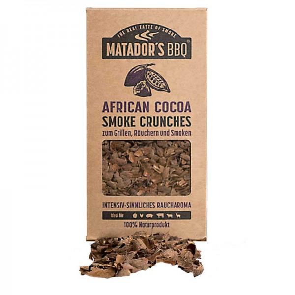MATADOR'S BBQ Smoke Crunches African Cocoa - Räucherchips