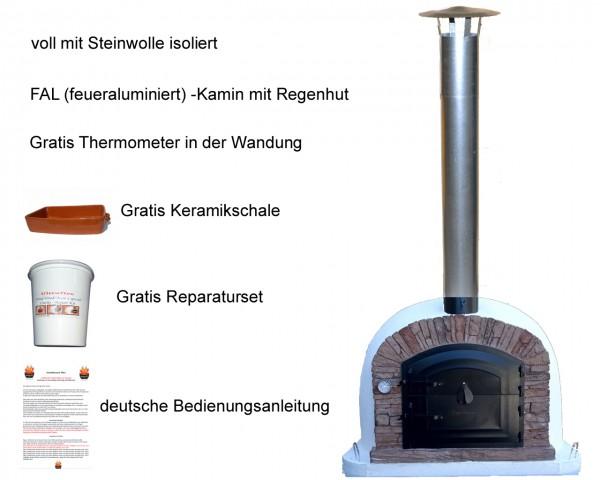 Steinbackofen venturared komplett - tomishop.de