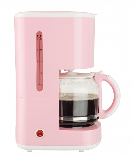 Kaffeeautomat - rosa 10-15Tassen