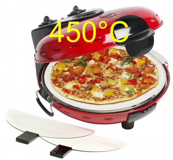 Pizzaofen Alfredo DLD9070 mit Tuningset