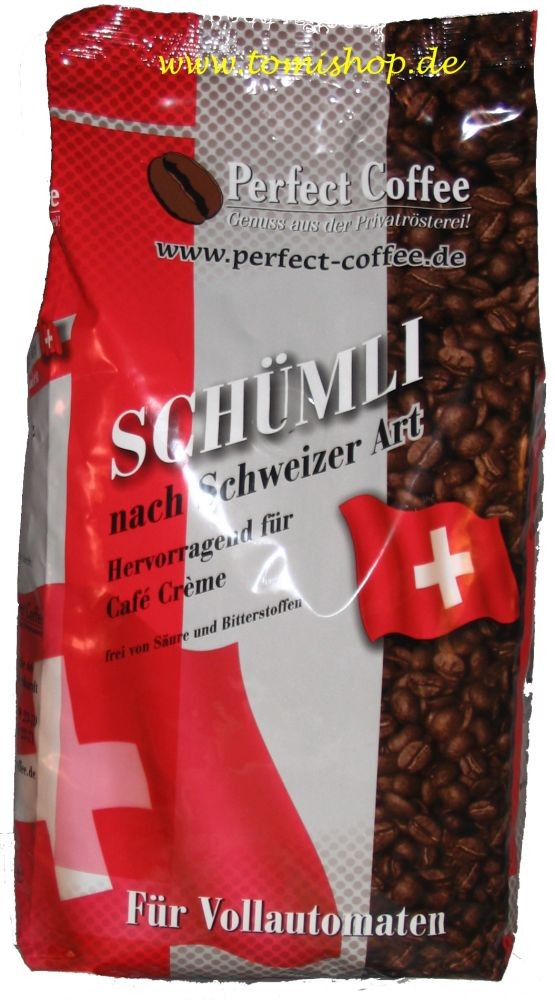 Joerges Schümli Kaffee nach Schweizer Art 1000g PC01Schue