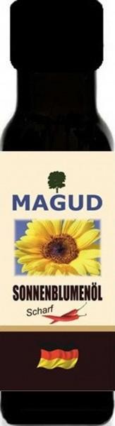kaltgepresstes Sonnenblumenöl scharf - - magud