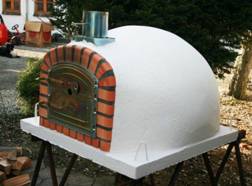holzbefeuerter pizzaofen lissabon steinbackofen holzbackofen 90cm lissabonwoc. Black Bedroom Furniture Sets. Home Design Ideas