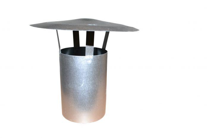 FAL-Regenhut 140mm Kaminrohr 1mtr mit Regenhut *HO03*
