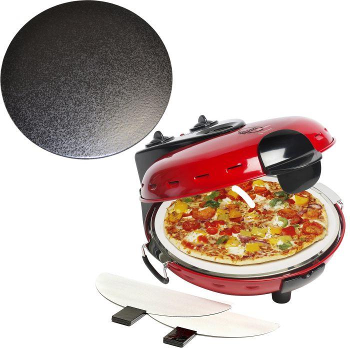 pizzaofen alfredo dld9070 mit glasiertem cordieritstein dld9070 p316 ebay. Black Bedroom Furniture Sets. Home Design Ideas
